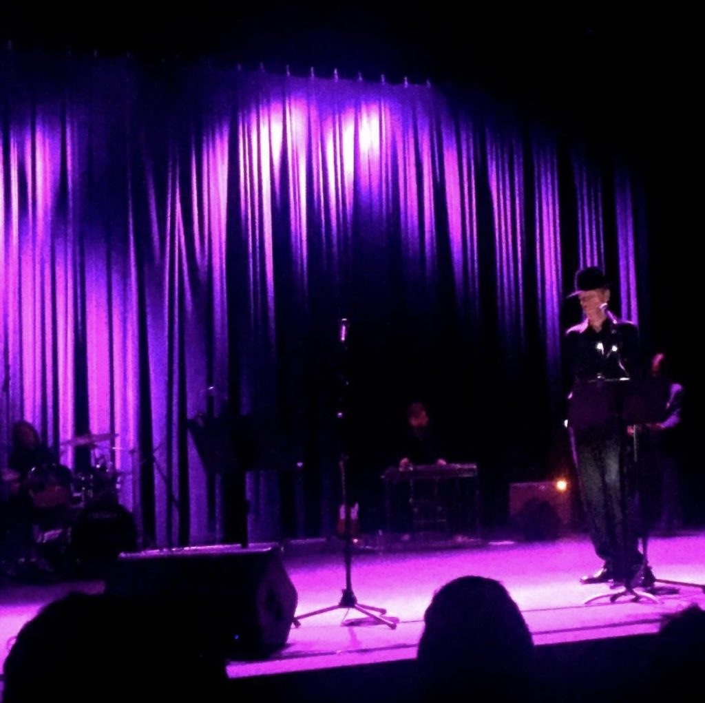 Jandek Performing at Hamman Hall