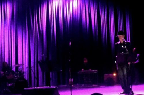 Jandek Performing at Hamman Hall